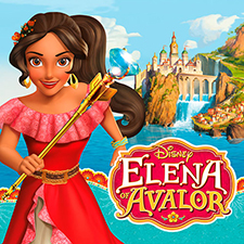 Decoración fiestas Elena de Avalor