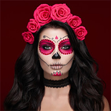 Diademas Catrina y Halloween