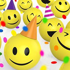 fiestas temáticas emoji