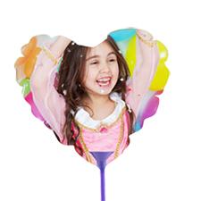 Globos corazón personalizados