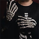 Complementos Disfraz Esqueleto
