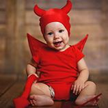 Disfraces de Demonios y Diablos para bebés