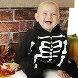 Disfraces Esqueleto Bebés