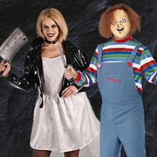Disfraz Chucky y Tiffany