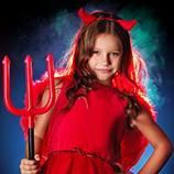 Disfraces Demonios y Diablos Niña
